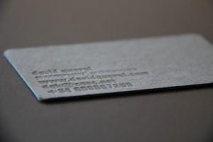 Impremta GrafiCar - Letterpress - Tipografia - Letterpress o Tipografia - Embossing