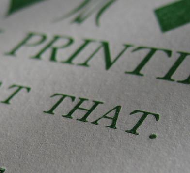 Imprenta Grafi Car - Tarjetas de visita personalizadas - Letterpress - Impresión tipográfica