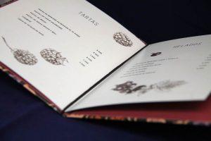 Imprenta GrafiCar - papelería corporativa barcelona - cartas_restaurante_tapa_dura